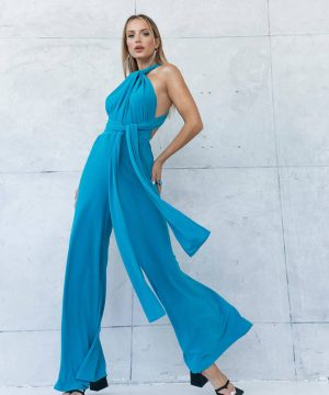 Blue Jumpsuit For Girls